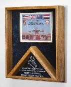 Military Flag and certificate Case - Shadow Box,Military certificate and Flag Case - Flag Shadow Box
