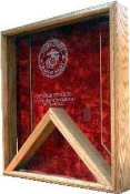 Coast Guard Flag Display Case - Shadow Box