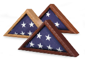 Air Force Flag Display case, Air Force flag case