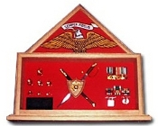 marine Corps Retirement Flag Case