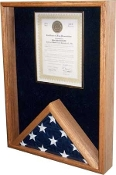 Flag and Certificate holder