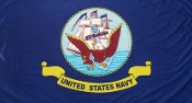 Navy Flag, Polyester Navy Flag