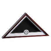 Navy Medallion Flag Display Case, Navy Flag display case