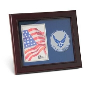 US Air Force Medallion Portrait Picture 4 inch x 6 inch