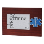 EMS Medallion Desktop Picture Frame
