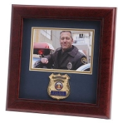 Police Department Medallion Landscape Picture F