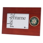 Army Medallion Desktop Picture Frame
