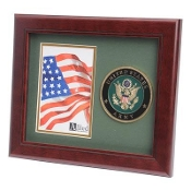 U.S. Army Medallion Portrait Picture Frame