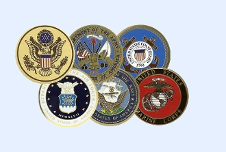 Color Medallions, Military Color Medallions