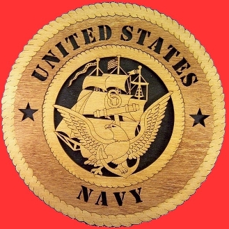 Navy wall tribute