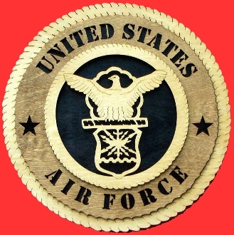 Air Force wall tribute, Laser Wall Tributes