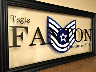 Air Force Gifts Air Force Personalized Gift Air force Frame