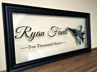 Air Force Frame Air Force personalized Gifts Air Force Wife