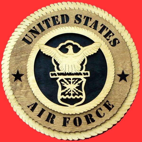 United States Airforce Wall Plaque