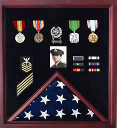 flag and medal display, Military Gifts