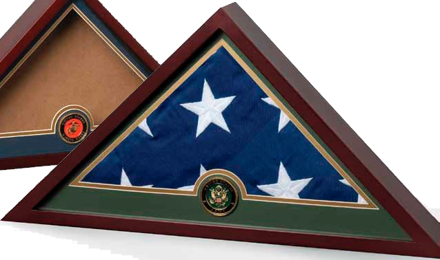 Military Flag Display case