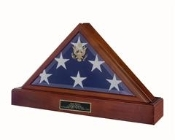 burial display case for flag, Burial Display case for flags