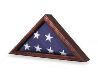 Navy Seal Flag Display case, Navy Flag Case