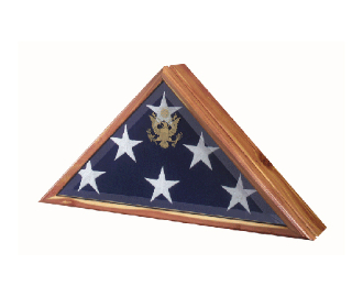 Burial flag case, Burial flag Frame, Burial Flag Frame - High Quality Flag Frame