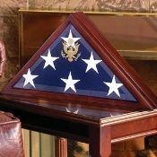 Burial flag box, Flag Frame, American flag display case, Best casket flag case