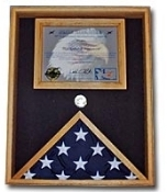 Military Certificate Case, Military Certificate Case, Military flag document case