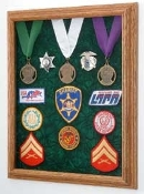 Awards Display Case, Military Medal Display case
