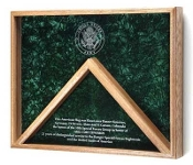 Awards Flag Display Case
