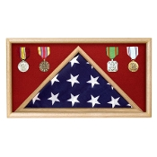 Flag Memorial Case - Fit a Flag that was Over a Coffin