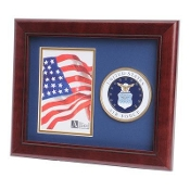 U.S. Air Force Medallion Portrait Picture Frame