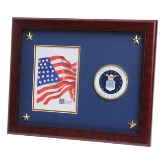U.S. Air Force Medallion Picture Frame with Star