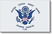 "Coast Guard Flag - 12 x 18"" U.S. Coast Guard Flag"
