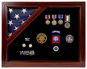 Flag Shadow Box, Flag Case Veterans Made