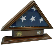 5'x9' Flag Case for Veteran Funeral Burial Flag