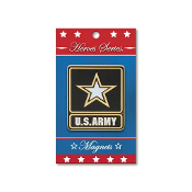 Heroes Series Go Army Medallion Large Magnet - 3.75 Inches