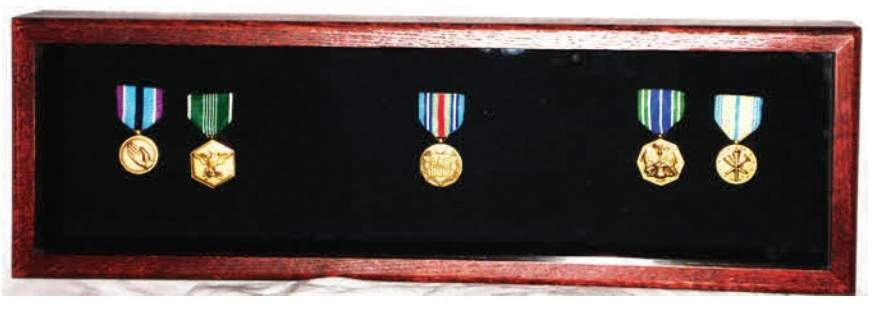 Large Medal Display Case, Large Medal Display Cases Wall Mount medal display case for military insignia plus medals it can also present photos and medals together