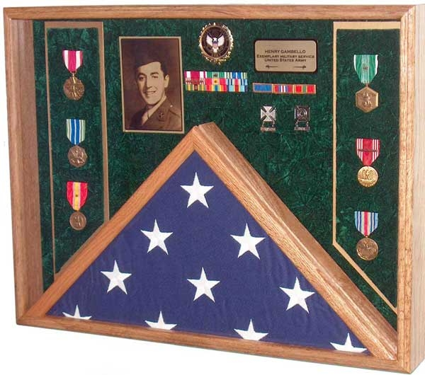 Awards, Flag  Display Case