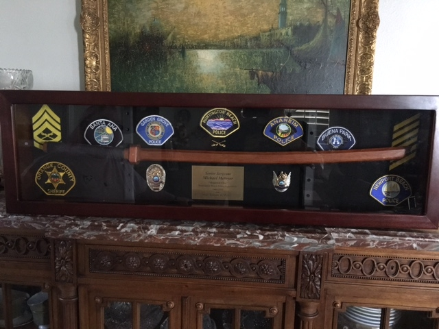 Military Sword Case, Sword Holder