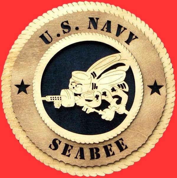 Seabee Tribute - Seabee wall Tribute