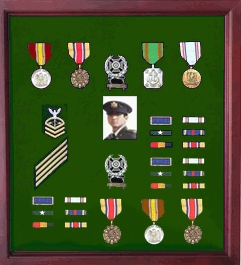 large medal display frame